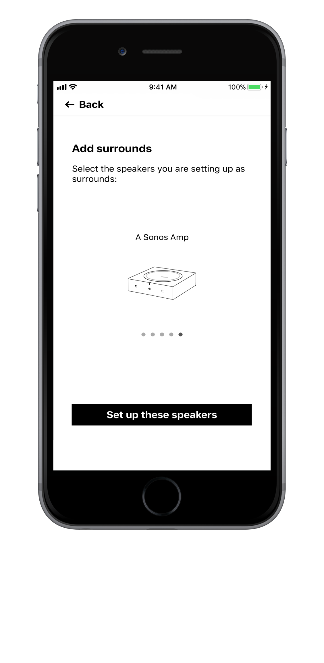 Setting up an Amp or Connect:Amp as surround speakers | Sonos