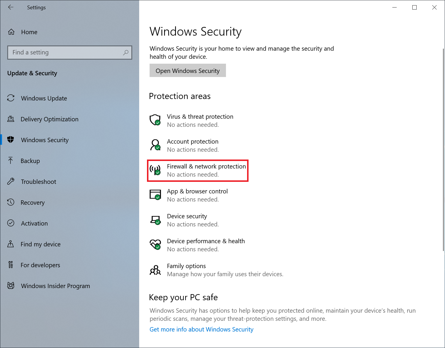 Configuring Windows 10 Network and Security Settings | Sonos