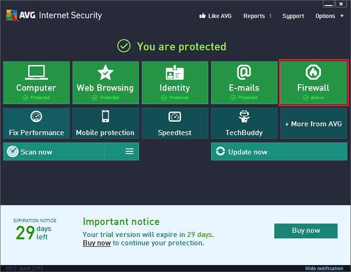 Avg internet security 2013 2013. 0. 2741 x86x64 final full version.