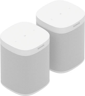 Two Room Set with Sonos One SL
