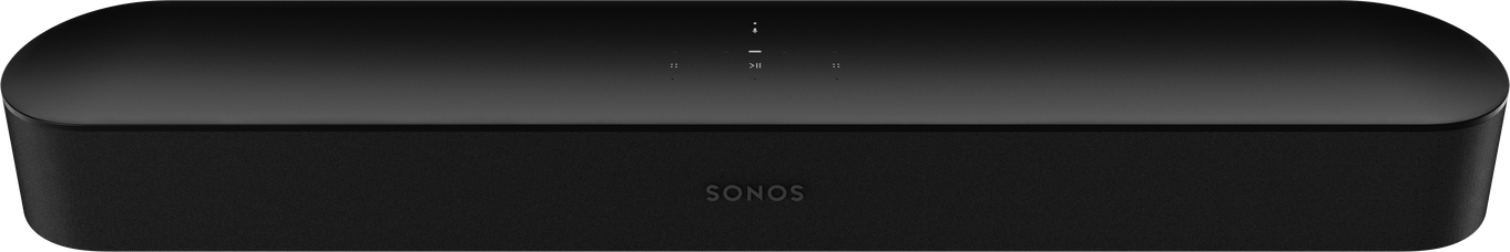 Sonos Beam Soundbar with Voice Control built-in - Black