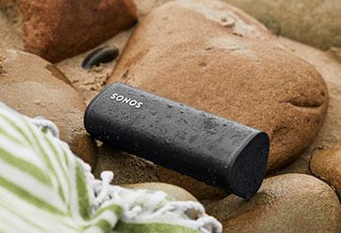 Sonos Roam On the Rocks